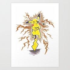 Thunderbolt 2 Art Print