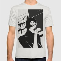 Le comics Mens Fitted Tee Silver SMALL