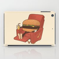 Lunch Break. iPad Case