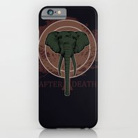 iPhone & iPod Case featuring The Elephant by AfterDeath