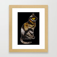 THE TIGER WITHIN 2 Framed Art Print
