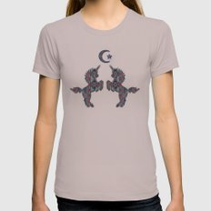 Fantasy Garden Womens Fitted Tee Cinder SMALL