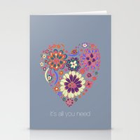 LOVE It´s All You Need Stationery Cards