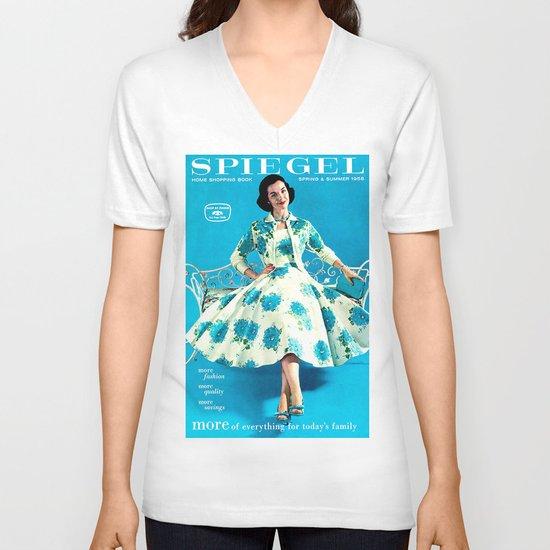 1958 Spring/Summer Spiegel Catalog V-neck T-shirt