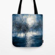 Paisaje Y Color (azul) Tote Bag