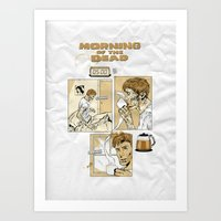 Morning Of The Dead Art Print