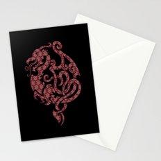 Modern Damask 2 Stationery Cards