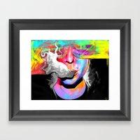 Paix Framed Art Print
