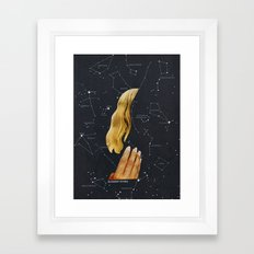 SUMMER STARS Framed Art Print