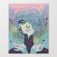 Braided Reality Check Canvas Print