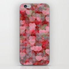 Hearts! Hearts! Hearts! iPhone & iPod Skin