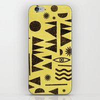 Tangential Paralysis. iPhone & iPod Skin