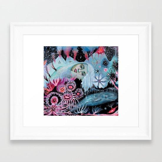 Minkie  Framed Art Print