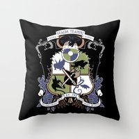 Dragon Training Crest - How to Train Your Dragon Throw Pillow