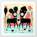 Love • Love Art Print