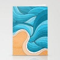 Beach Tide Stationery Cards