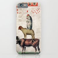 iPhone & iPod Case featuring Animal Collection -- Together by Elo Marc