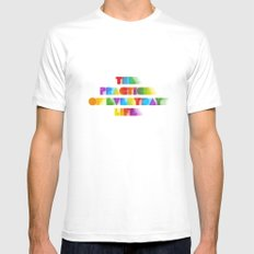The Practice of Everyday Life Mens Fitted Tee White SMALL
