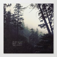 Forest Universe II Canvas Print