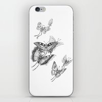 Fly Butterflies Fly iPhone & iPod Skin