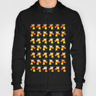 Unicorn Candy Corn Hoody