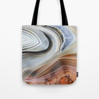Marble Lined Tote Bag