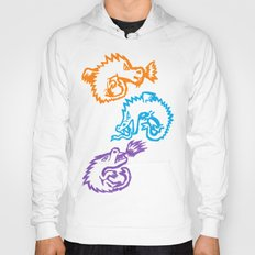 Crayon Love: Dragons Hoody