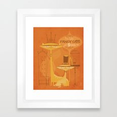 Fancy Cats Framed Art Print