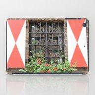 Vintage Window In Zons iPad Case
