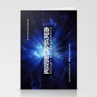 Halucinated Design + Mot… Stationery Cards