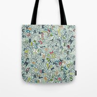 A1B2C3 ICE Tote Bag