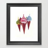 Summer in Moscow Framed Art Print