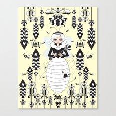 Lady Honey Canvas Print