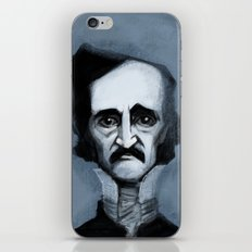 Mr. Alan Poe iPhone & iPod Skin