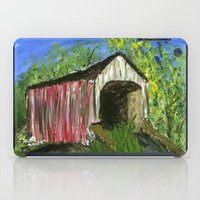 Erwinna Covered Bridge  iPad Case