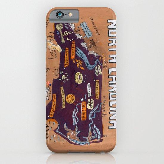 NORTH CAROLINA iPhone & iPod Case