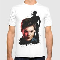 Monster Madness: Dexter … Mens Fitted Tee White SMALL