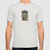 Final Fantasy II - Palad… Mens Fitted Tee Silver SMALL