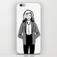 Winky Jacket iPhone & iPod Skin