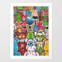 ToyZ. Art Print
