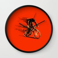 BikeCycling Wall Clock