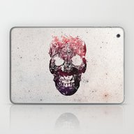 Laptop & iPad Skin featuring SKULL by Ali GULEC