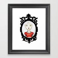 Just a portrait Framed Art Print
