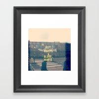 Just Roasts & Bloody Mar… Framed Art Print