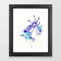 Ciel Boréal (Étude Caribou I) Framed Art Print