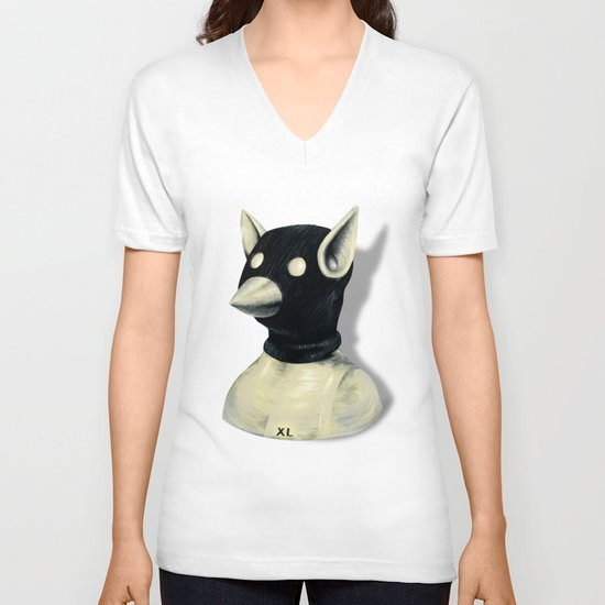 Bandit Hat V-neck T-shirt