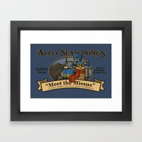Meet the Missus Tea Framed Art Print