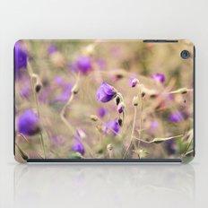 Purple Past iPad Case