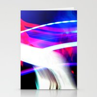 Photo Light Painting Stationery Cards