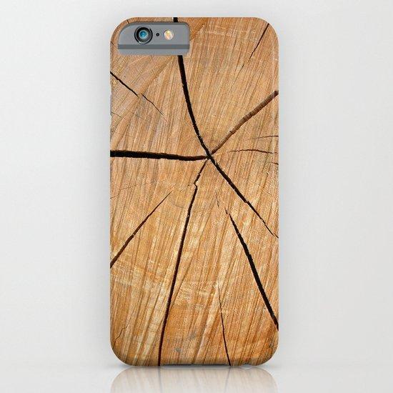wood macro II iPhone & iPod Case